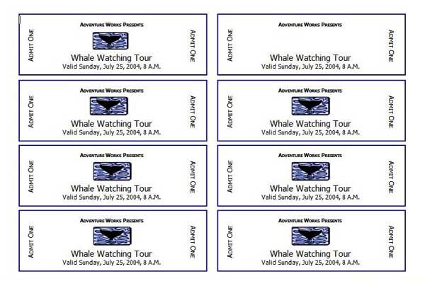 avery raffle ticket templates free