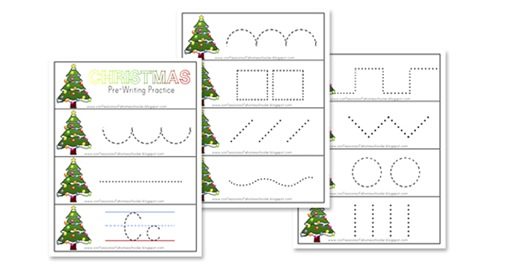 Free Preschool Christmas Printables