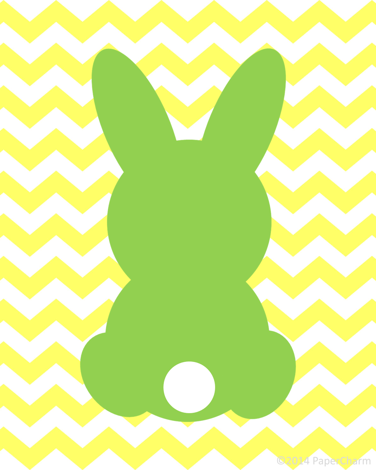 5 Images of Free Bunny Silhouette Printable 8 X 10