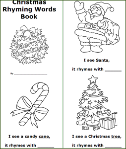 Free Printable Kindergarten Christmas Books