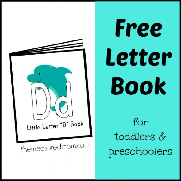 Free Printable Letter Books