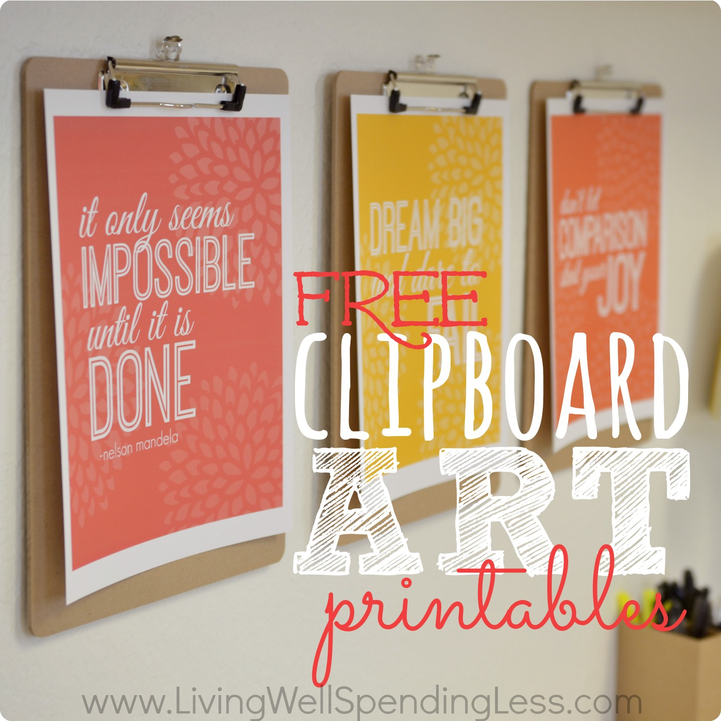 5 Images of Home Office Printables