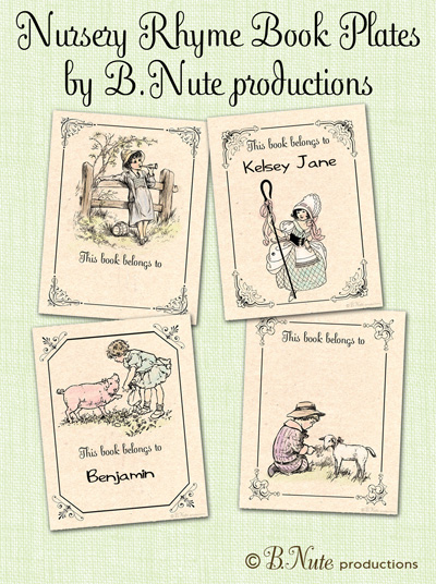 Free Printable Nursery Rhyme Books