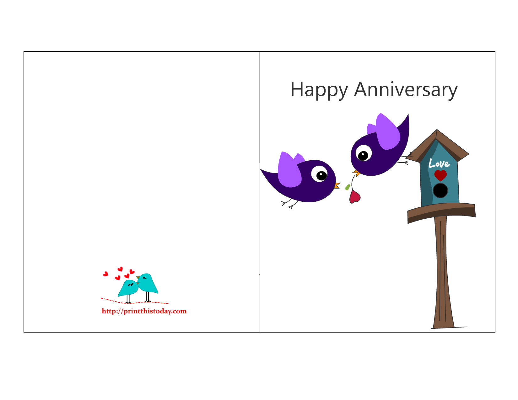 7 Images of Funny Happy Anniversary Cards Printable