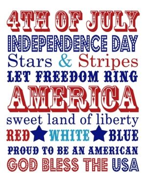 7 Images of Printable 4th Of July Crafts