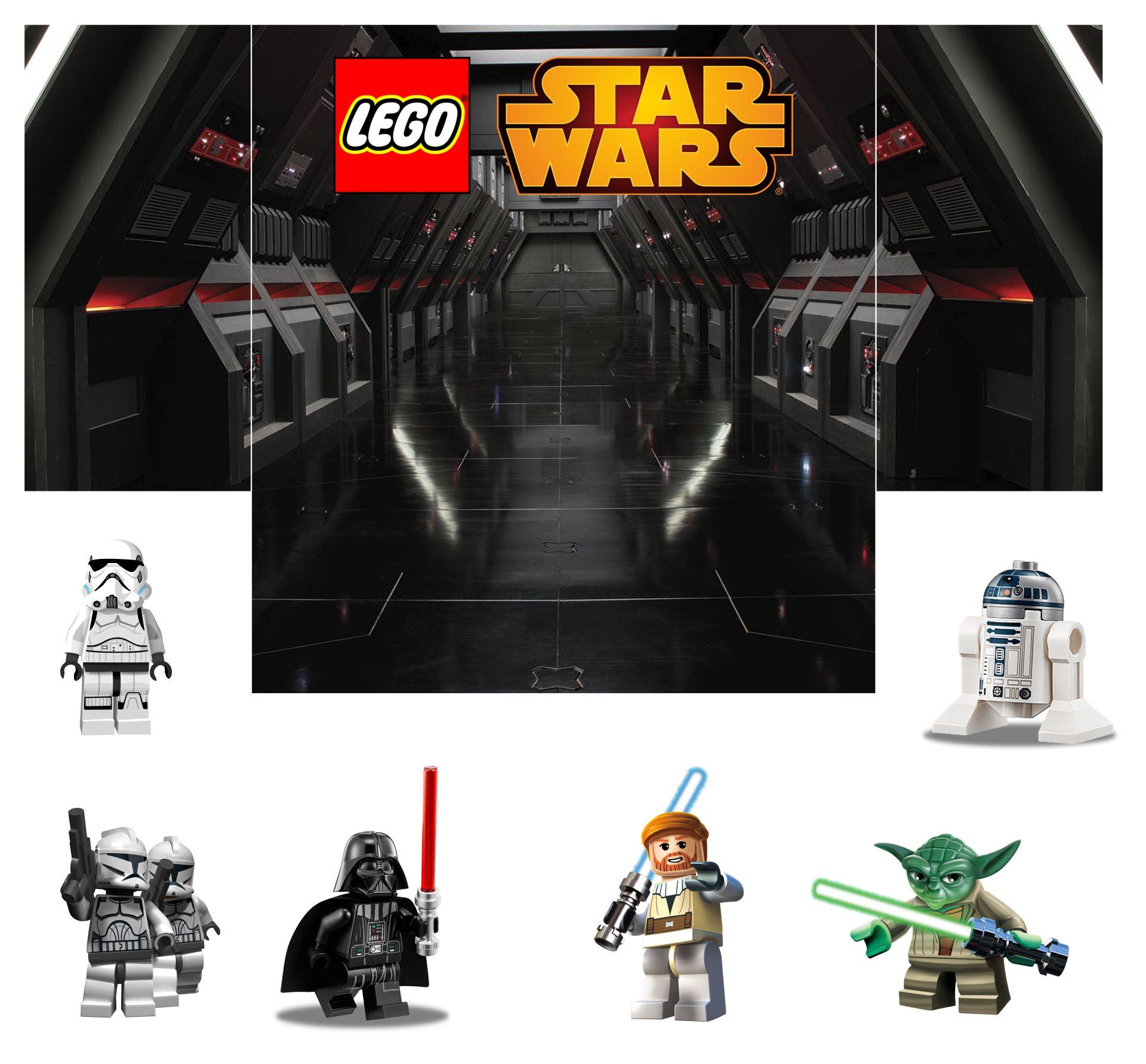 LEGO Star Wars Diorama Backgrounds