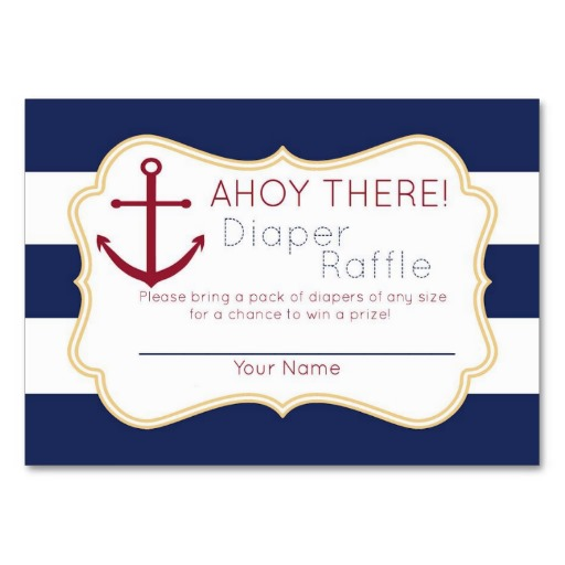free printable diaper raffle nautical nautical diaper raffle tickets