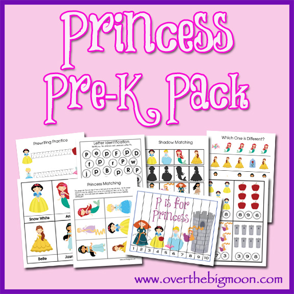 6 Images of Printable Princess Activities