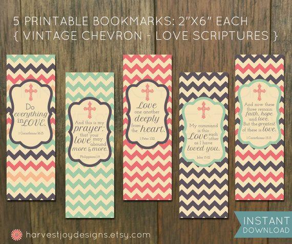 Printable Inspirational Bookmarks