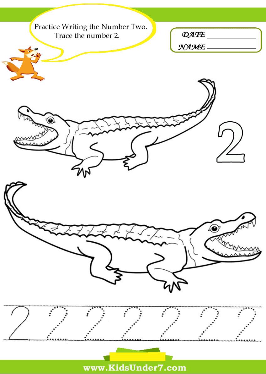 6 Best Images of Printable Number 2 Worksheets - Free Printable ...