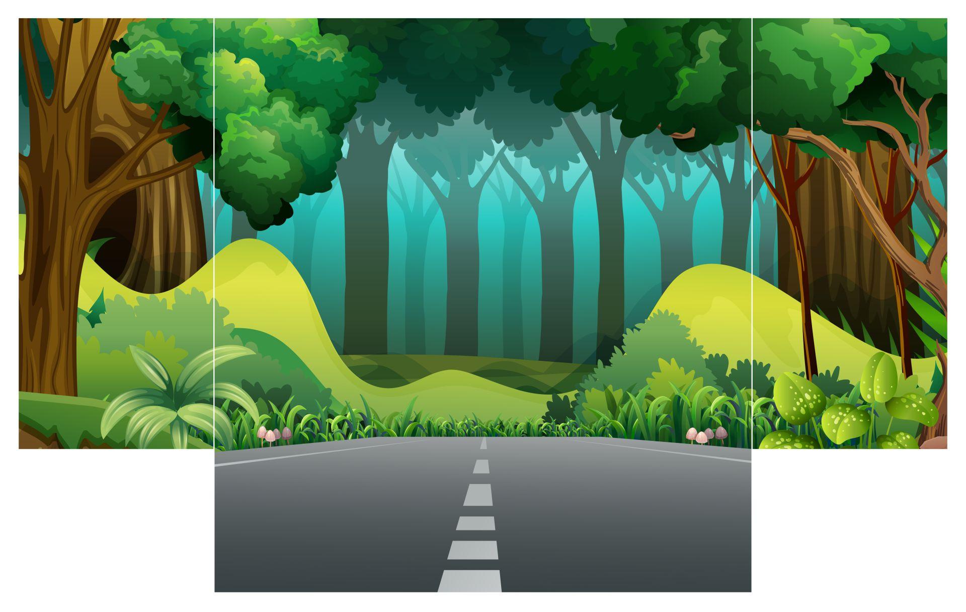 Rainforest Shoebox Diorama Printables