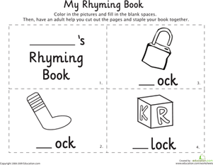 Cat In The Hat Rhyming Flip Book