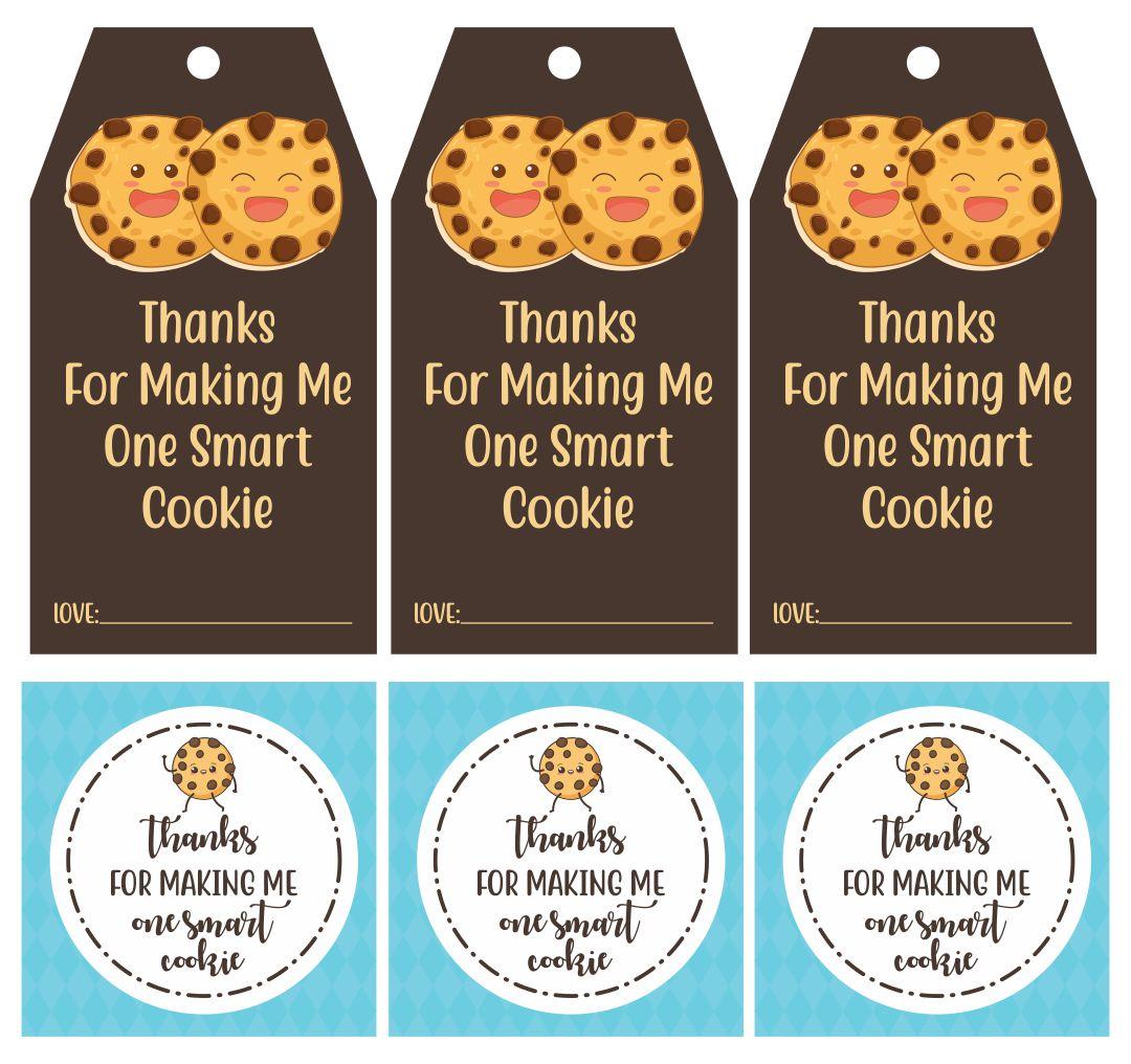 Smart Cookie Teacher Gift Printable