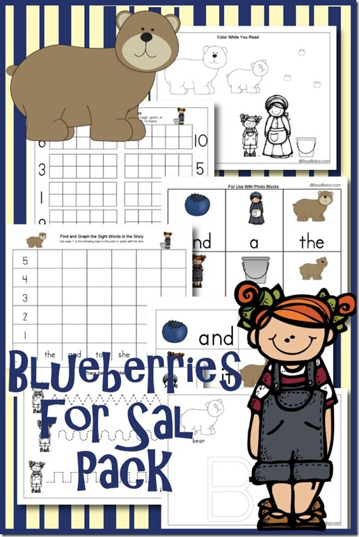 6 Images of Blueberries Free Printables