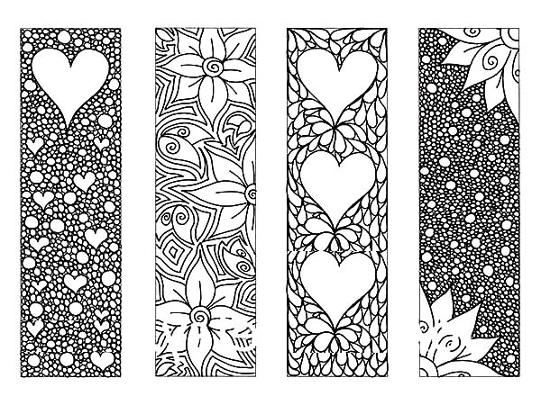 8 Images of Full Color Printable Bookmarks