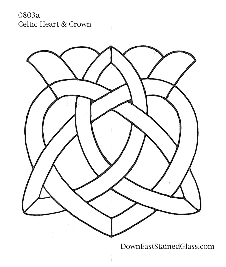 9 Images of Celtic Knot Stained Glass Patterns Free Printable