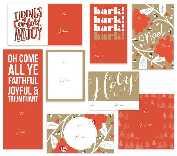 Christian Christmas Gift Tags Printable