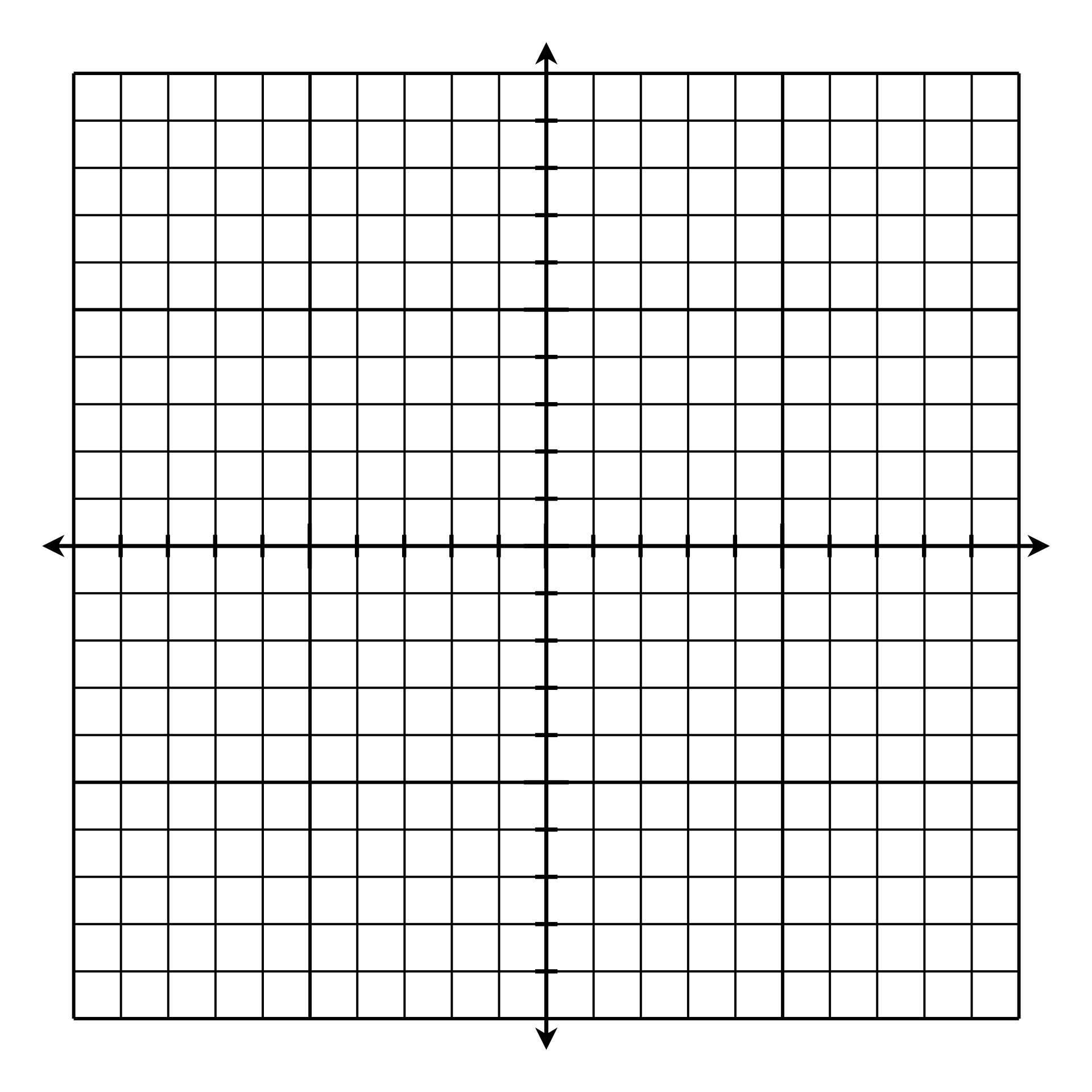 Coordinate Grid Graph Paper Printable