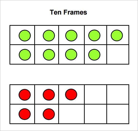 Common Worksheets » Ten Frame Worksheets - Preschool and ...