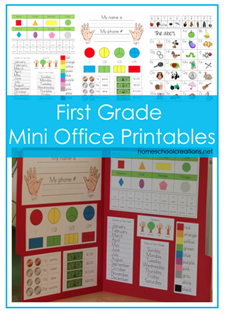 5 Images of Mini Office Printables Kindergarten