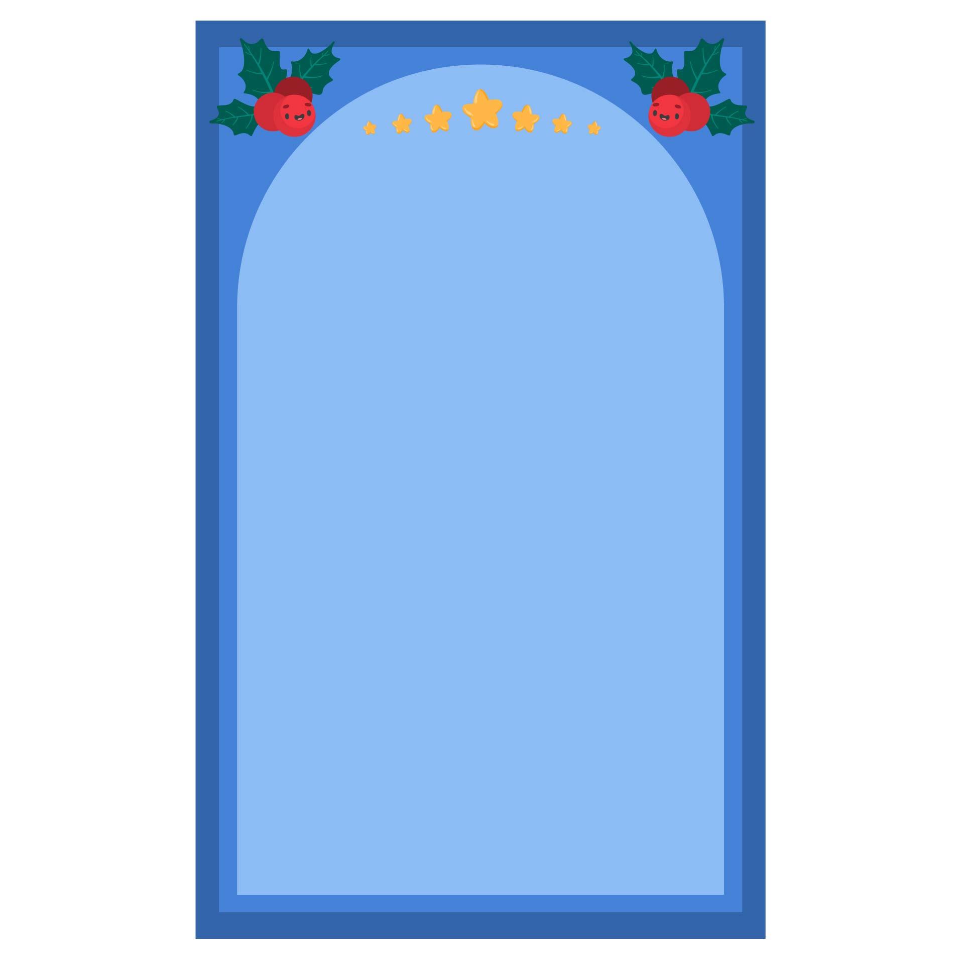 Christmas Letterhead Stationery