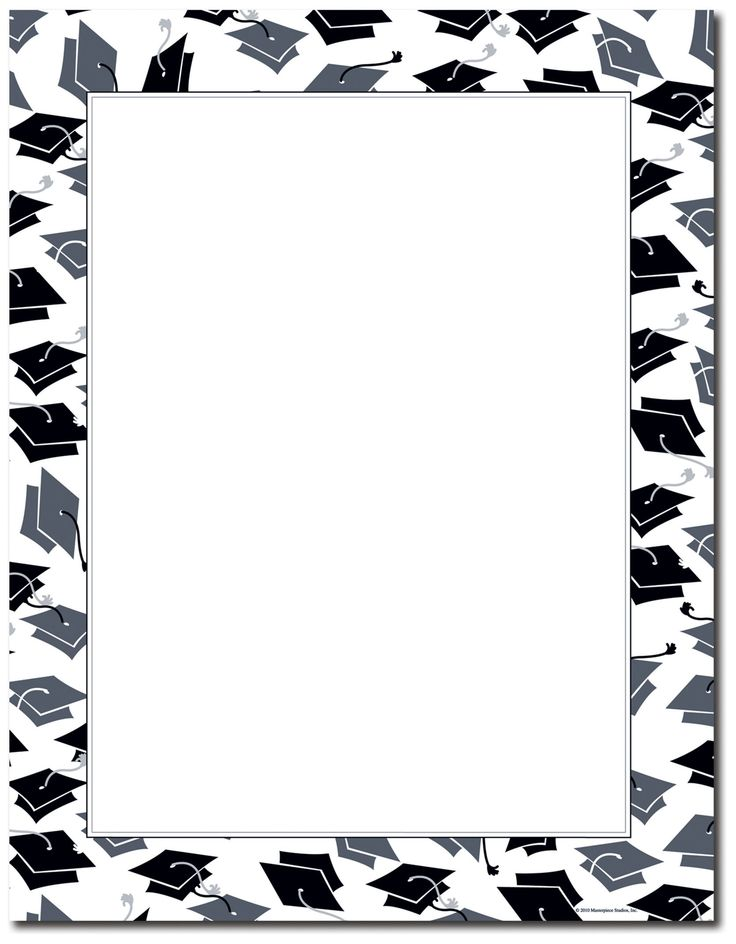 5 Images of Free Printable Graduation Paper