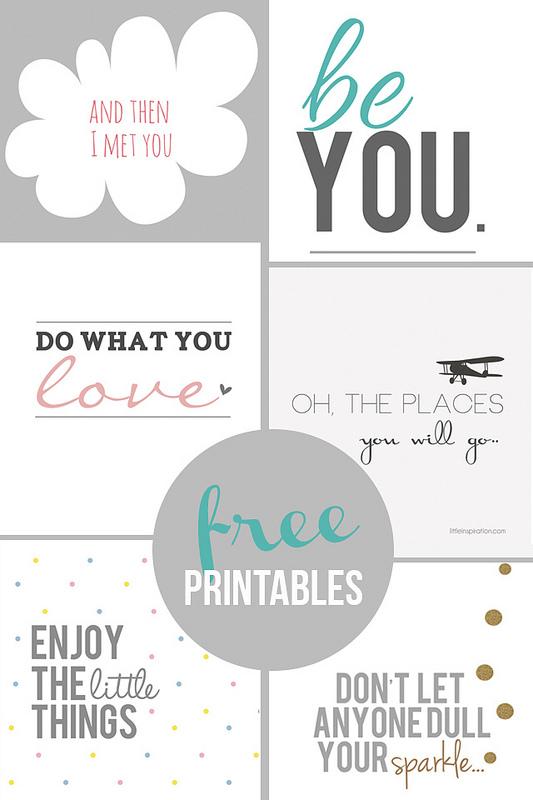 Free Inspirational Printables