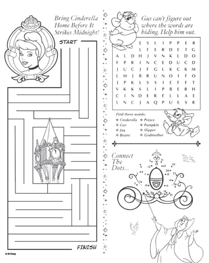 5 Best Images Of Printable Activity Sheets Kids
