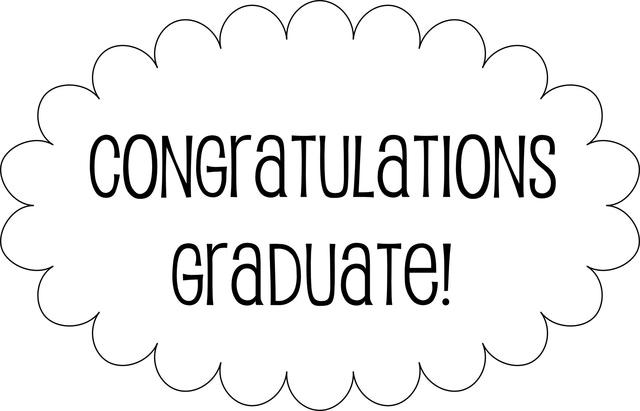5 Images of Graduation Congratulations Templates Printable