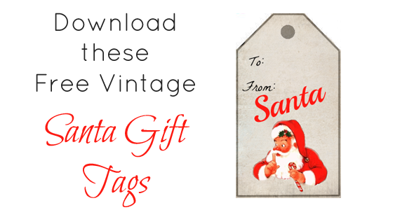 10 Images of Printable Tags From Santa