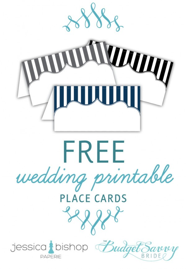 7 best images of free printable table place cards template for Make your own wedding place cards