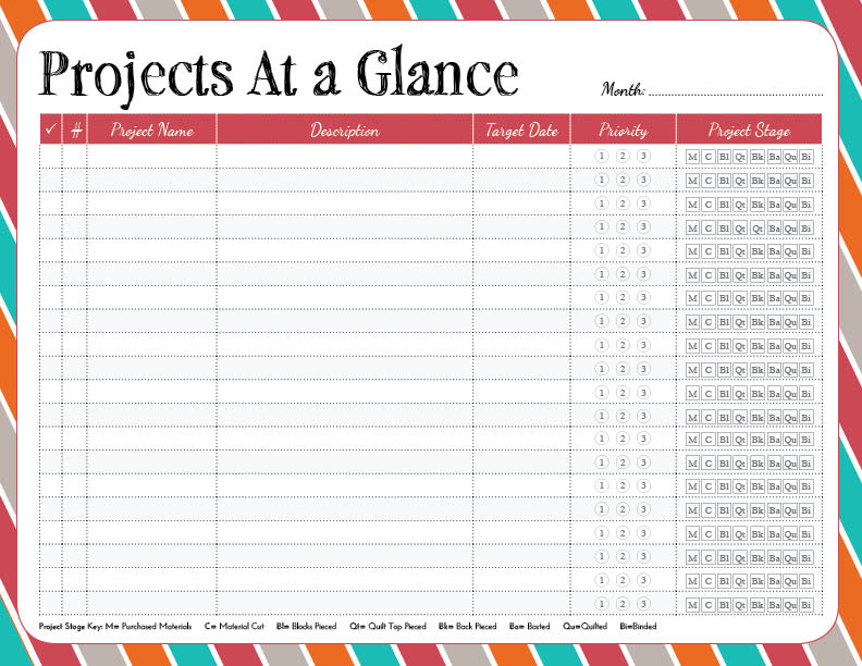 6 best images of project planning sheet printable free for Project listing template