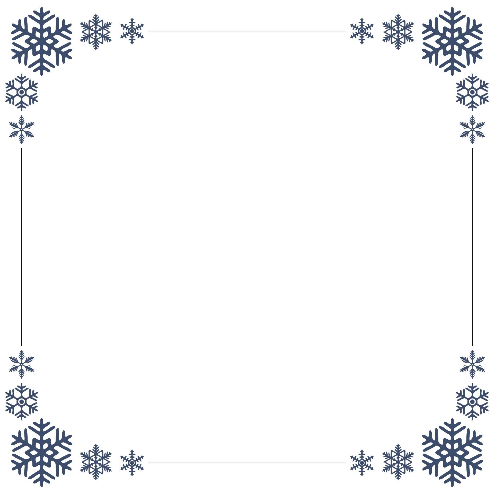 free snow clip art borders - photo #47
