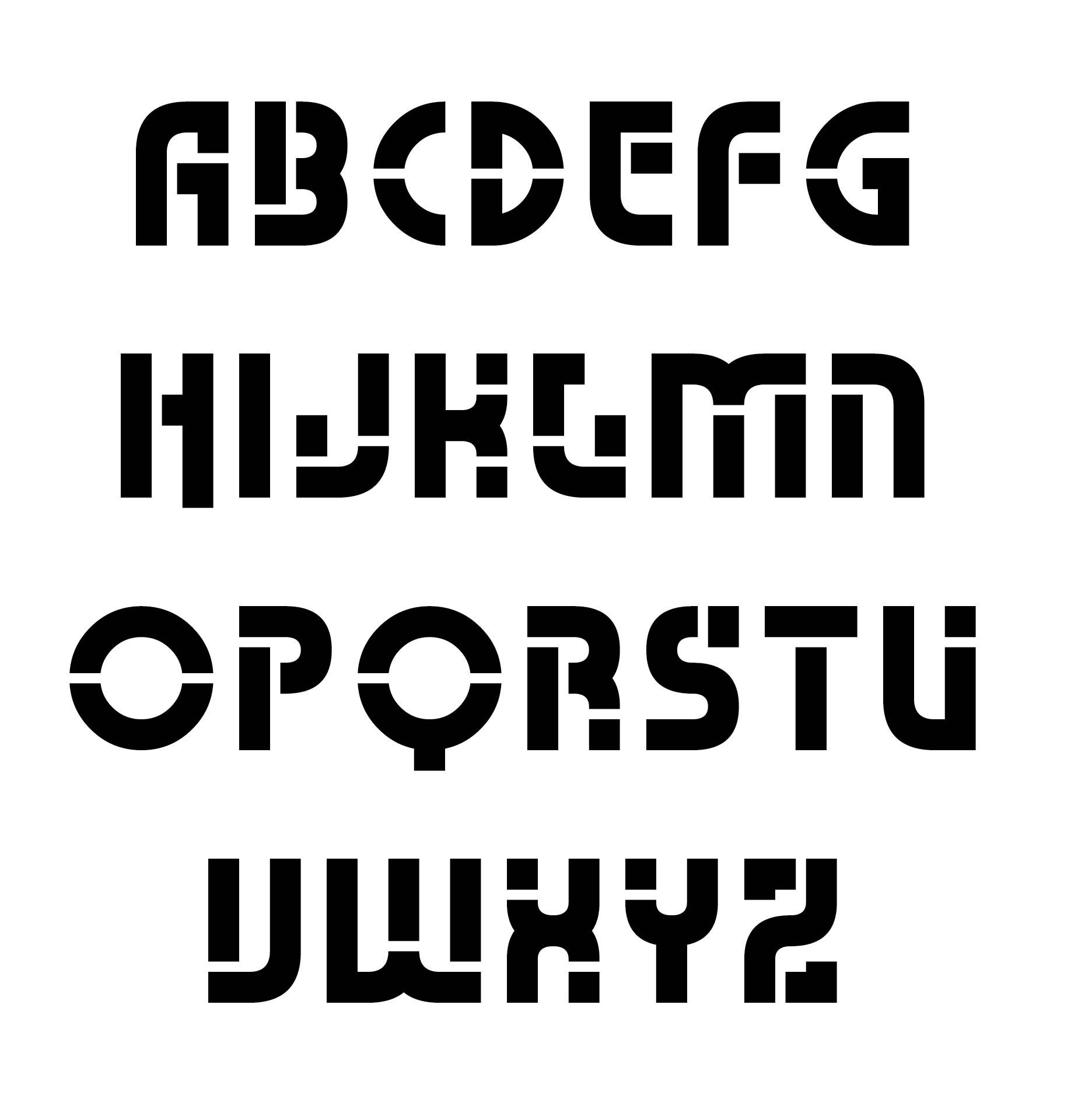 Large alphabet letters to color - Size Alphabet Letter Printable Stencil Free Printable Stencil Letters