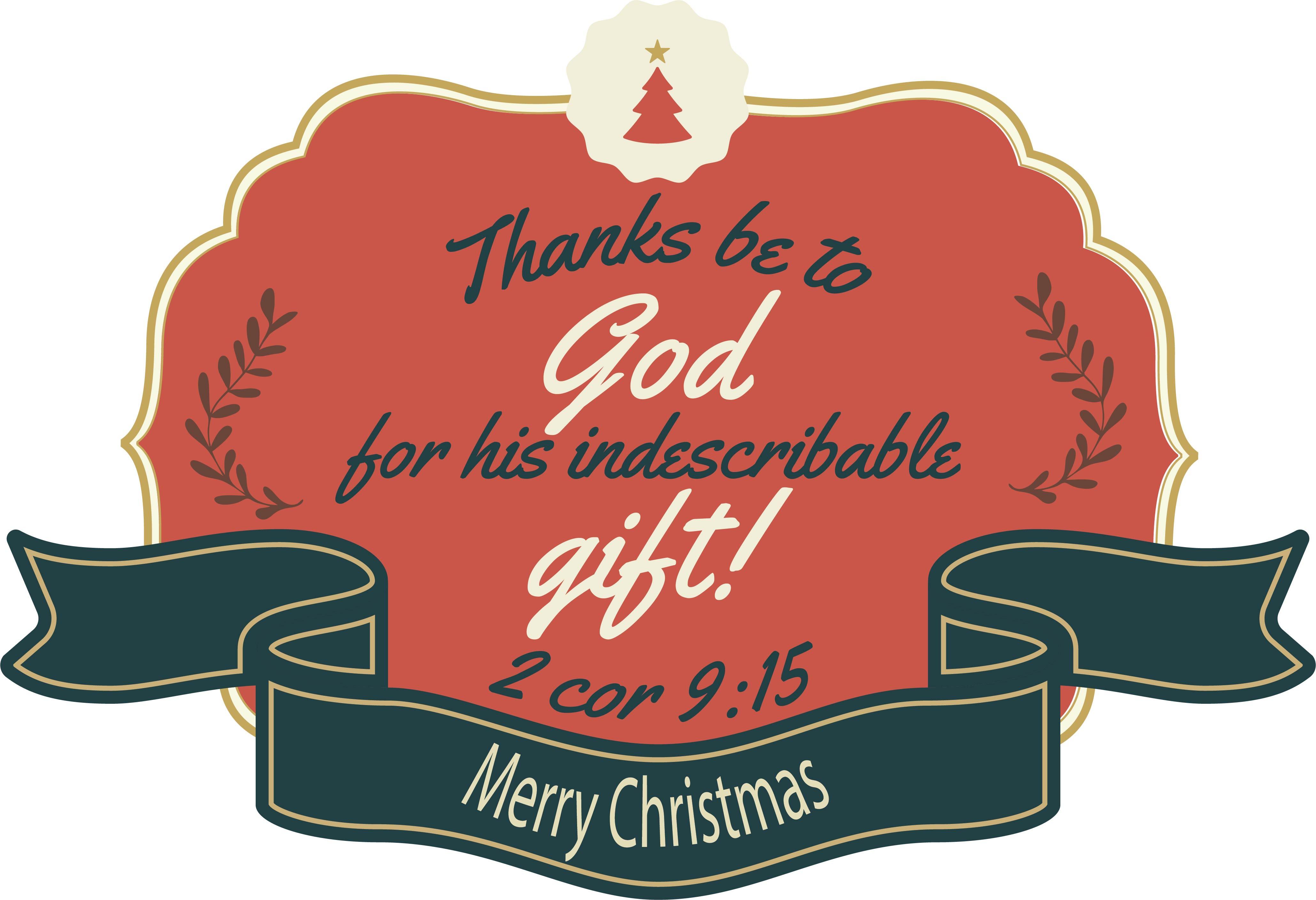 Religious Printable Christmas Gift Tags