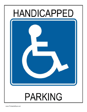 7 Images of Parking Signs Printable Birthday