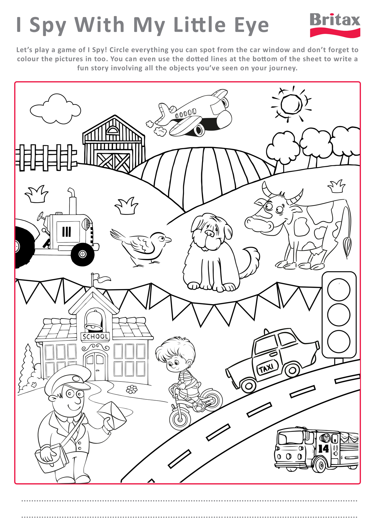 5 Best of Printable Activity Sheets Kids Activity