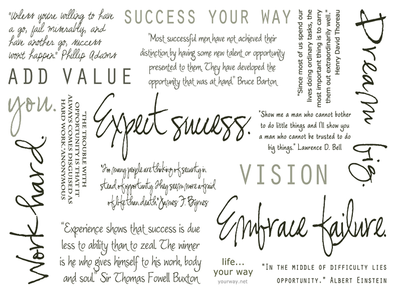 7 Images of Inspirational Work Printables