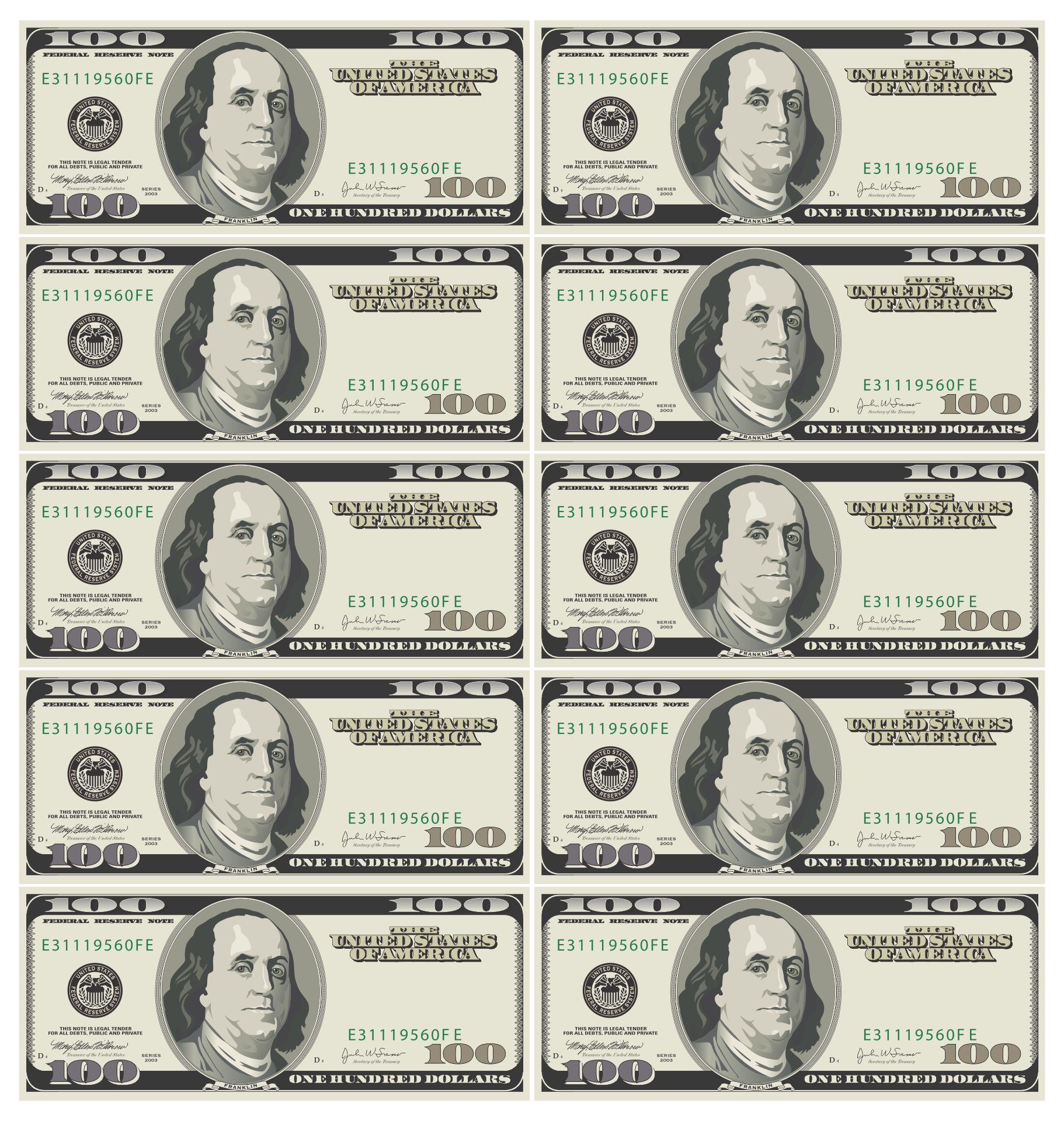 It is a graphic of Mesmerizing Printable Fake Money