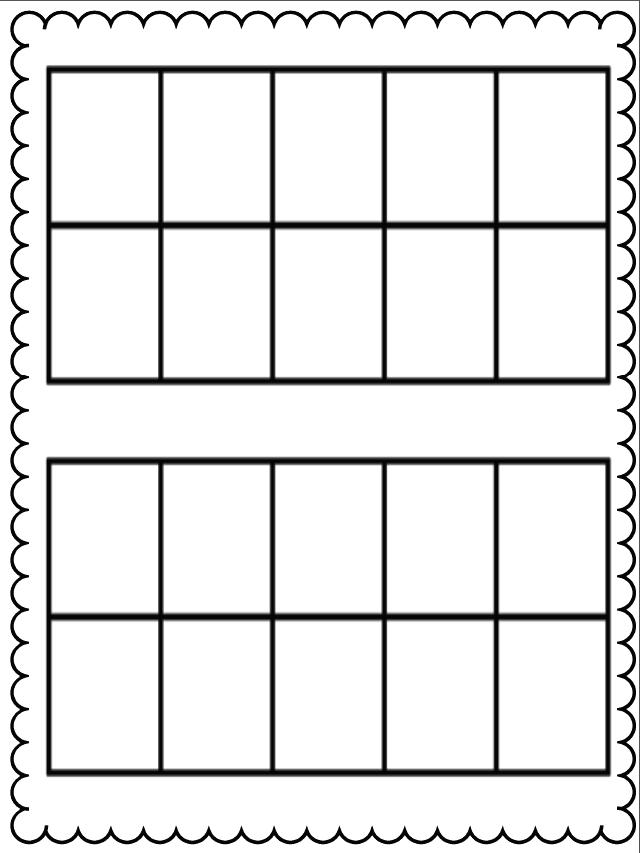 Kindergarten Ten Frame