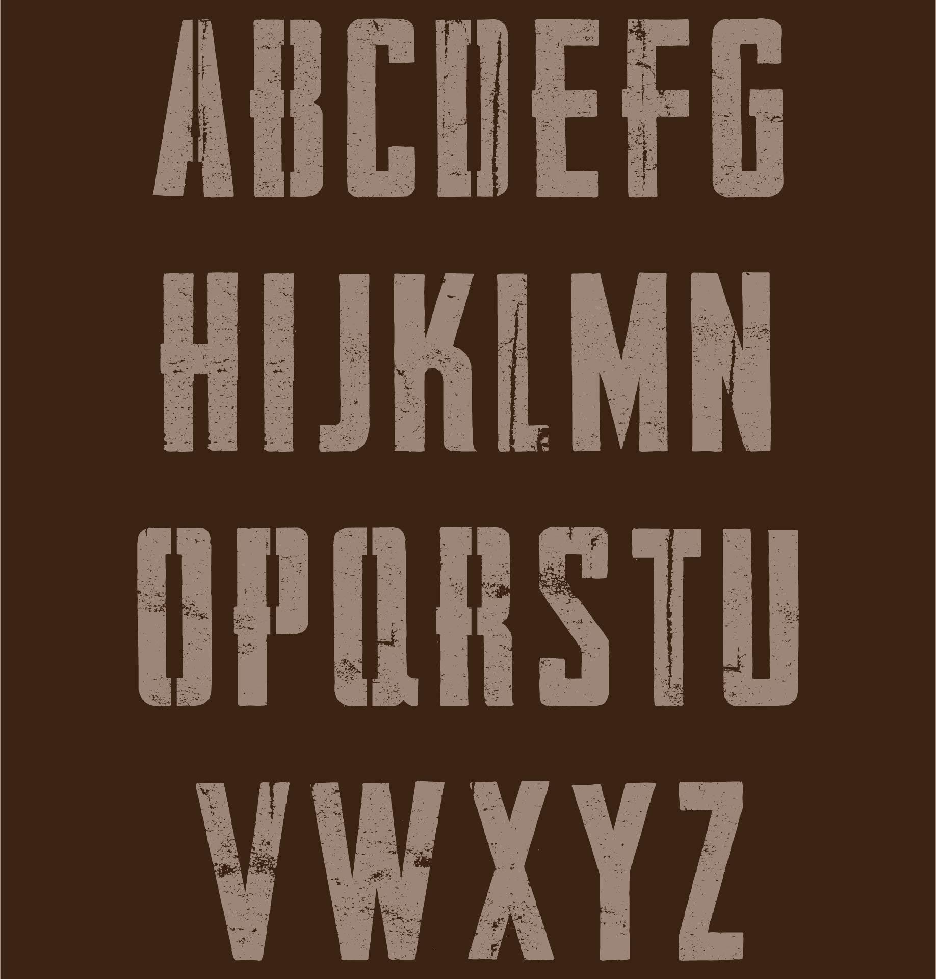 9 Images of Medium Alphabet Stencils Printable