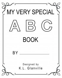 5 Images of My First ABC Book Printable