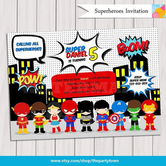 5 Images of Free Printable Superhero Pop Art
