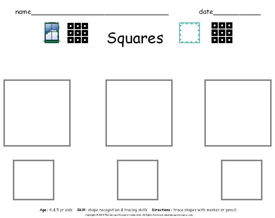5 Best Images of Free Printable Preschool Worksheets ...