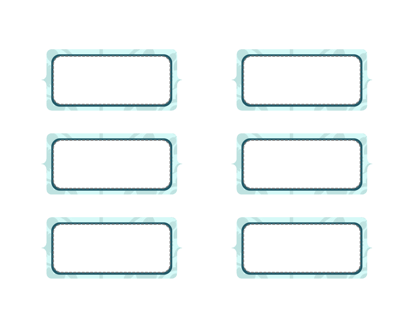 6 Images of Free Printable Blank Labels