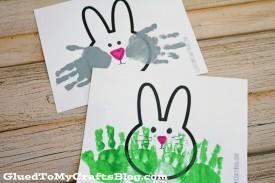 Printable Bunny Cardstock