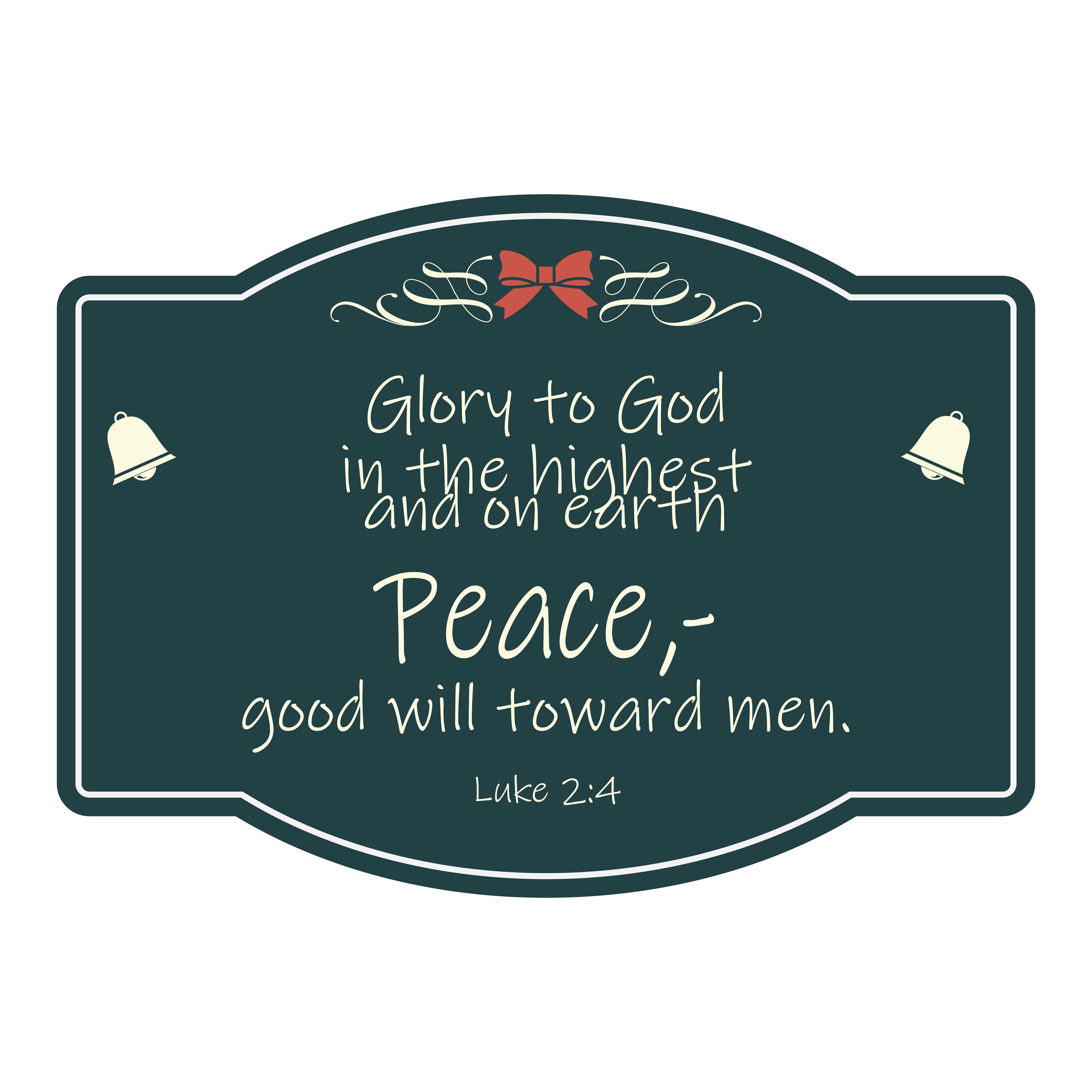 Printable Christmas Gift Tags Bible