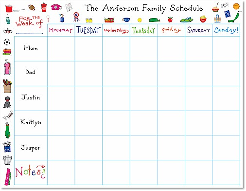 Family Calendars : Best images of printable family calendar organizer
