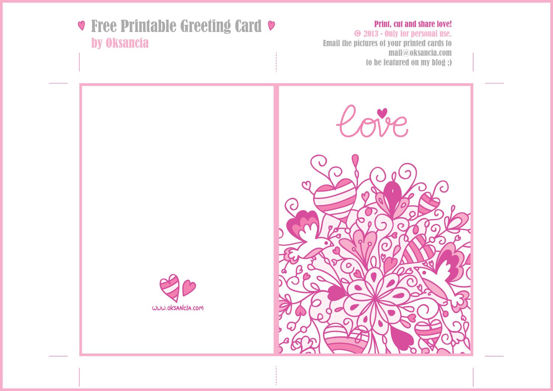 Printable Greeting Cards