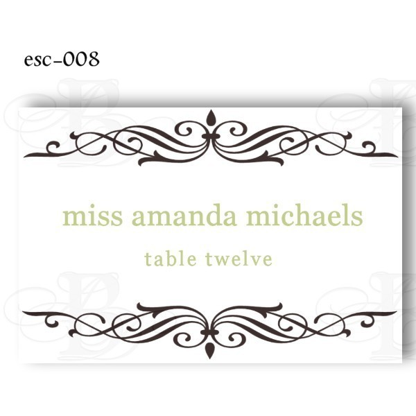 table placement cards templates - 7 best images of free printable table place cards template